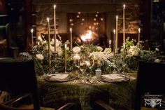 Eloping at the Lodge Lake Placid Lodge, Renaissance, Lodge Wedding, Lodges, Floral Design, Candles, Table Decorations, Winter, Inspiration
