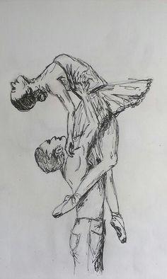 - Elektra Z. Ballet Drawings, Dancing Drawings, Pencil Art Drawings, Realistic Drawings, Art Drawings Sketches, Ballet Art, Art Sketchbook, Drawing People, Ink Art