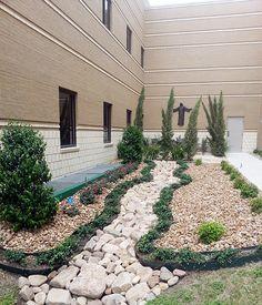 CTMC #Remembrance #Garden is now complete. #PregnancyAndInfantLossAwareness