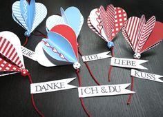 Herzanhänger für #Valentinstag #Dekoration #Geschenk #Herz ♥ stylefruits Inspiration ♥