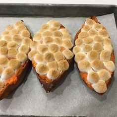 Twice-Baked Sweet Potatoes with Browned Butter and Toasted Marshmallows - Allrecipes.com