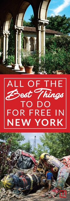 Things to Do in NYC That Are Fun & Free for Fall 2016 - Thrillist - min side Usa Roadtrip, Travel Usa, Travel Tips, Budget Travel, Travel Ideas, Travel Destinations, York Things To Do, Free Things To Do, Fun Things
