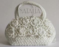 Crocheted purse from Russia