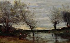 Marshy+Pastures+-+Camille+Corot