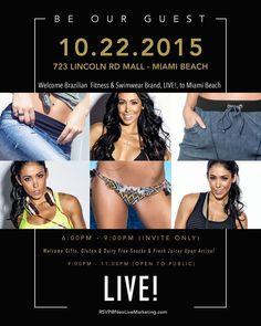 Obaaaaaaa dia 22/10 a nova e primeira loja da @liveoficial nos Estados Unidos será inaugurada e o evento estará aberto ao público de 21 as 23h! Estarei esperando por vocês no Lincoln Rd Mall em Miami  Beach! Até lá pessoal!!!!  #TeamLive #LiveUSA #EuVivoLive _____________________  Yaaaay @liveoficial is coming to the US!!!! Its very first store in the country will open on 10/22 and I will be there in person waiting for y'all! Take notes - we have a date on 10/22 at 723 Lincoln Road Miami…