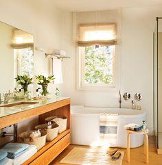 Con bañera, ducha ¡y un vestidor! · ElMueble.com · Cocinas y baños