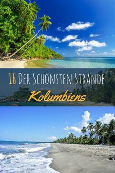 In Kolumbien gibt es wundervolle Landschaften, aufregende Großstädte wie Medellin und Bogota und natürlich traumhafte Strände. Doch nicht nur auf der Karibikseite bei Cartagen und Santa Marta gibt es Traumstrände. Mehr zu den schönsten Stränden auf meinem Blog Kolumbienblog.com #kolumbien #traumstrand #strand #südamerika #lateinamerika #palmen #urlaub