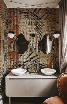 Quattrocento By inkiostro bianco, glass-fibre wallpaper design Studio Zero, wallcovering 2017/18 Collection