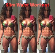 Get that 6 pack and slim waist you've always been wanting with this workout!