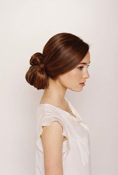 Knotted Chignon Wedding Hair Tutorial~Image © Tec Petaja for Once Wed. Hair and makeup by Jordan Byers; Styling by Joy Thigpen. Wedding Hairstyles Tutorial, Wedding Hairstyles For Long Hair, Wedding Hair And Makeup, Hair Wedding, Wedding Dresses, Bridal Gowns, Holiday Hairstyles, Up Hairstyles, Pretty Hairstyles