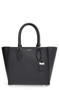 Michael Kors \u0026#39;Large Gracie\u0026#39; Leather Tote available at ...