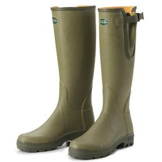 hand made wellies that keep the feet warm, they say