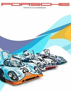 Porsche 917 - There is NO substitute.