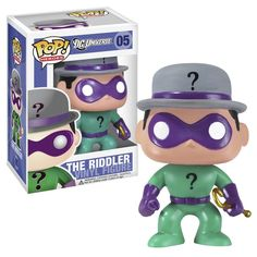 funko pop | Figure DC Universe Heroes New Funko Pop Vinyl Riddler | eBay
