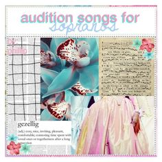 """audition songs for sopranos 