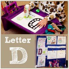 Home #Preschool Letter D
