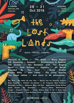 """Check out this @Behance project: """"The Lost Lands"""" https://www.behance.net/gallery/42054841/The-Lost-Lands"""