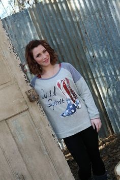ba90cf602 American Flag Boot Graphic Sweatshirt- Wear Us Out Boutique Conroe -  Montgomery Texas Christmas Ideas