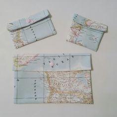 Adoro la tela mapamundi Wallet, Worldmap, Maps, Accessories, Art, Purses, Diy Wallet, Purse