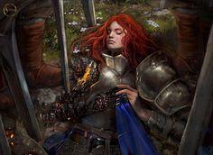 Girl Knight - A Stas