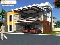 5 bedroom, duplex (2 floors) house design. Area: 450m2 (18m X 25m). Click on this link (http://www.apnaghar.co.in/house-design-367.aspx) to view free floor plans (naksha) and other specifications for this design. You may be asked to signup and login. Website: www.apnaghar.co.in, Toll-Free No.- 1800-102-9440, Email: support@apnaghar.co.in