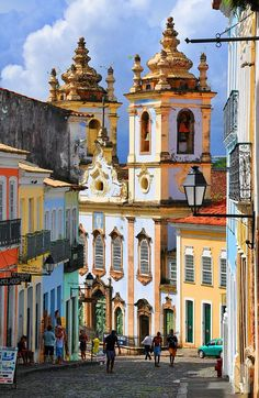 Historic Centre of Salvador de Bahia, Brazil - a UNESCO World Heritage area