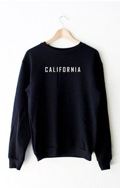 Cities Oversized Sweatshirt from NYCT Clothing. Saved to Sweaters / Jackets. Shop more products from NYCT Clothing on Wanelo. Hoodie Sweatshirts, California Sweater, Mode Ootd, Mode Outfits, Mode Style, Sweat Shirt, Sweater Weather, Pulls, Black Sweaters