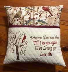 Grand Sewing Embroidery Designs At Home Ideas. Beauteous Finished Sewing Embroidery Designs At Home Ideas. Book Pillow, Reading Pillow, Machine Embroidery Patterns, Sewing Patterns, Embroidery Ideas, Embroidery Thread, Quilt Patterns, Pillow Embroidery, Modern Embroidery