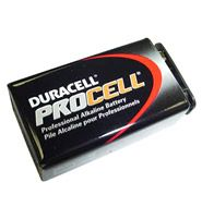 PP3 9V Duracell Procell Battery (10 Pack)    It's high specification features a low noise signal, wide dynamic range, flexible yet road-proof!