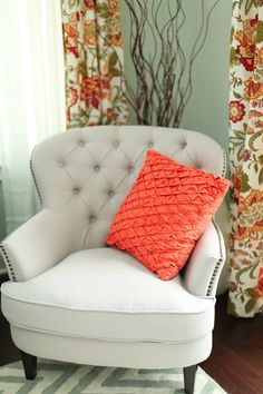 comfy + classic chair