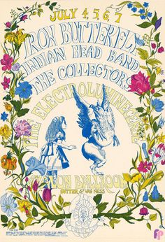 Iron Butterfly at Avalon Ballroom 7/4-7/68 by Dottie