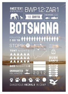 Trip Infographics by Jeff Tyser, via Behance