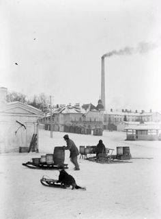 Laukon tori, Alaranta Helsinki, Historian, Ancient History, Old Photos, Finland, Black And White, Pictures, Vintage, Old Pictures