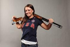 Corey Cogdell Unrein Shooting for Gold at 2016 Rio Olympics Trap Shooting, Women's Shooting, Olympic Shooters, Archery Photography, Senior Photography, Hottest Wags, Country Senior Pictures, Senior Pics, Senior Portraits
