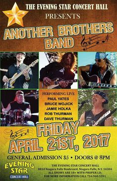 ANOTHER BROTHERS BAND - http://fullofevents.com/newyork/event/another-brothers-band-3/