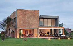 Casas charmosas sem pintura 001