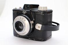 AGFA CLACK Rollfilm Kamera 6 x 6 Baujahr Antik Vintage inkl.Tasche Vintage DEKO in Foto & Camcorder, Photographica, Alte Kameras | eBay