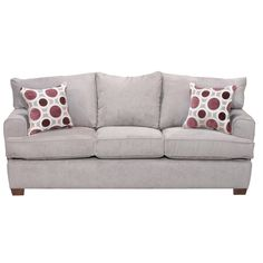 "RC Willey - 84"" x 36"" x 36"" Gray Upholstered Sofa $499.99"