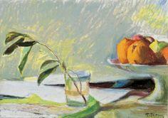 Panagiotis Tetsis Παναγιώτης Τέτσης Greece Painting, 10 Picture, Greek Art, Painting Still Life, Greeks, Life Inspiration, Acrylics, Modern Art, Inspire