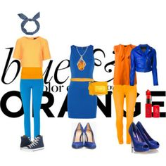 Blue and Orange Color Contest