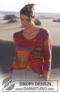 DROPS 95-11 - DROPS Cardigan in INKA. - Free pattern by DROPS Design
