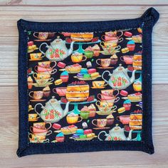 Pot Holders - Teapots and Sweets