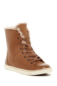 Croft Luxe Genuine Shearling High Top Sneaker by UGG Australia on @nordstrom_rack