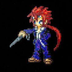 Final Fantasy VII perler beads by  ansrath