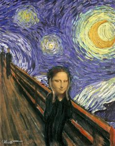 Top 15 des parodies du « Cri » d'Edvard Munch