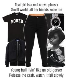 """Black Beatles x Rae Sremmurd ft. Gucci Mane"" by juicyums ❤ liked on Polyvore featuring Tissot, NIKE and Effy Jewelry"