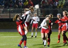 West girls soccer beats North Branch 7-1  By Joe Steck – Mankato Times FARMINGTON, MINN. --- The Mankato West High School girls' soccer team defeated North Branch 7-1 in the opening round of the Class 1A Minnesota State Soccer tournament in Farmington. With the victory the Scarlets improve to 19-2 while North Branch ends…