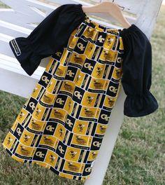 Georgia Tech toddler dress