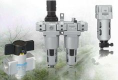 Pneumatic cylinders in chemical industries use two or multi-way pneumatic valves to block or open the hose in heads for in taking by pistons. Some types of valves are used for pressure regulating. http://www.sovereign-sales.com/pneumatics.php