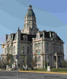The Vigo County Courthouse is a courthouse in Terre Haute, Indiana. The seat of government for Vigo County. Built 1884-1888. 1900 population: 38,873